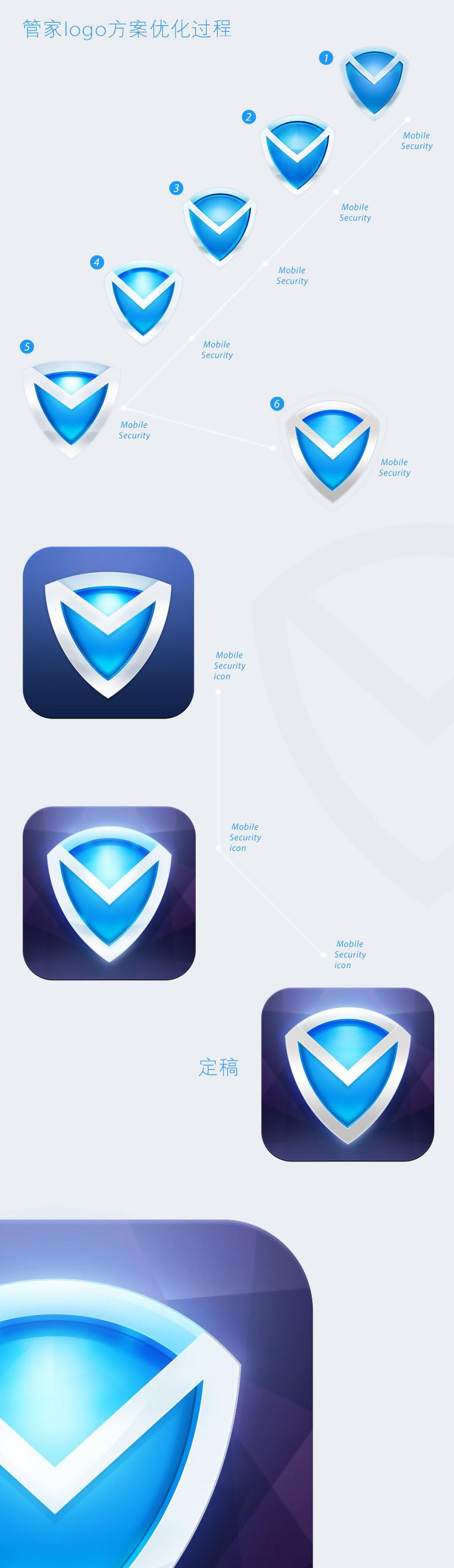 腾讯手机管家logo设计方案